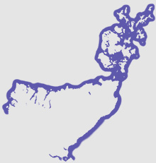 North Scotland map