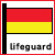 Lifeguards on beach