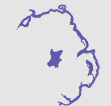 Northern Ireland map